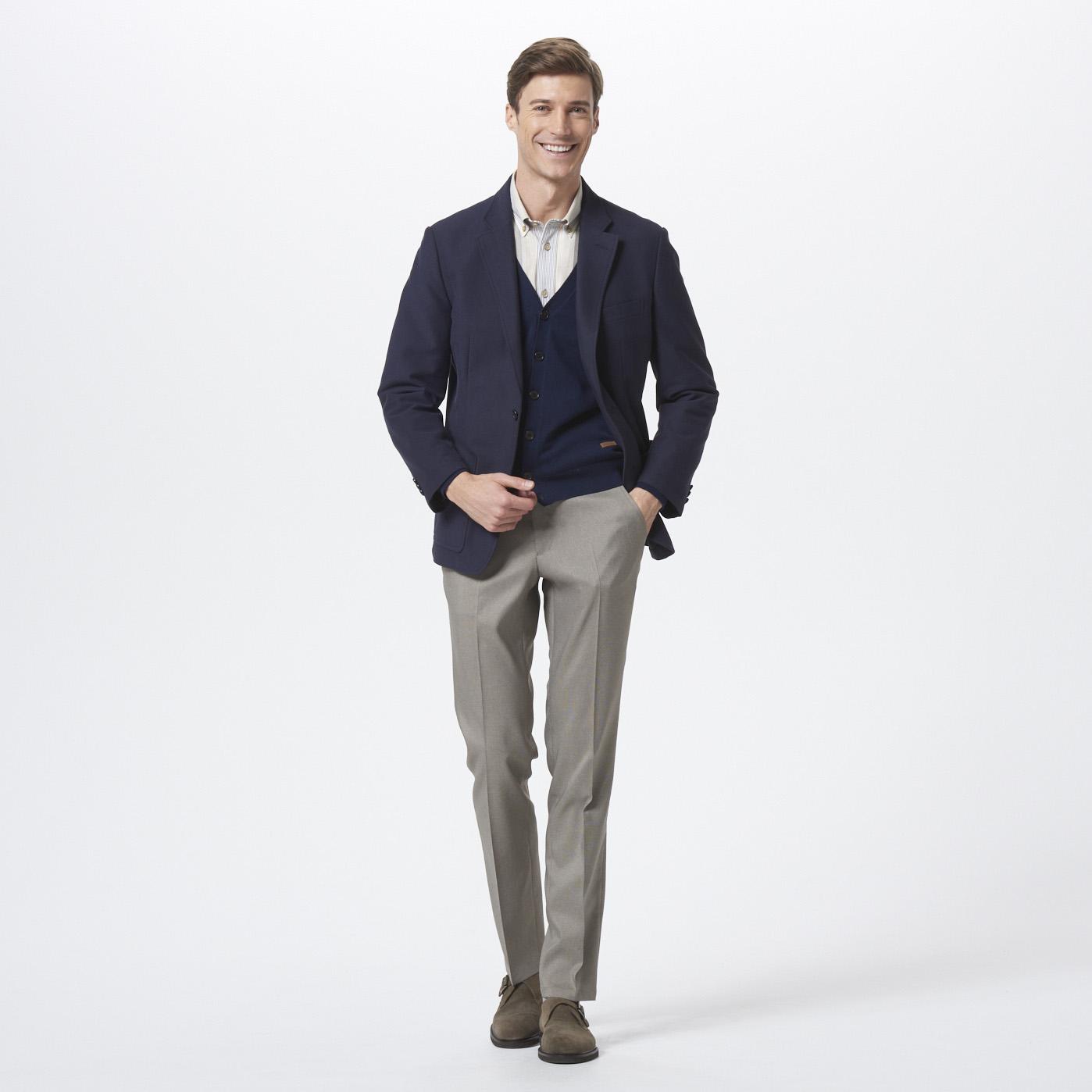 【GoldenBear Mens】<br />春のジャケット着回し提案