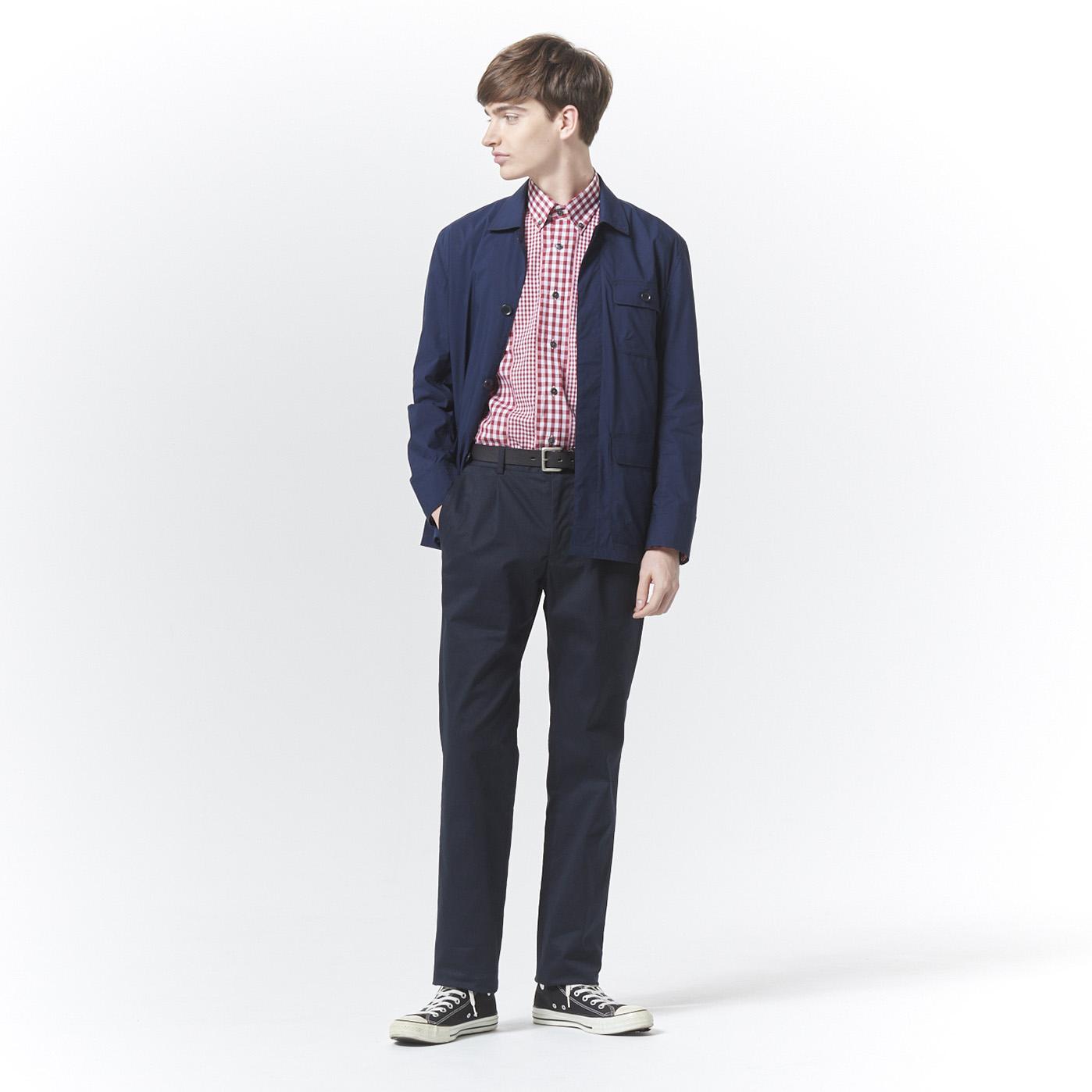【GoldenBear Mens】</br>春のギンガムチェックシャツコーデ