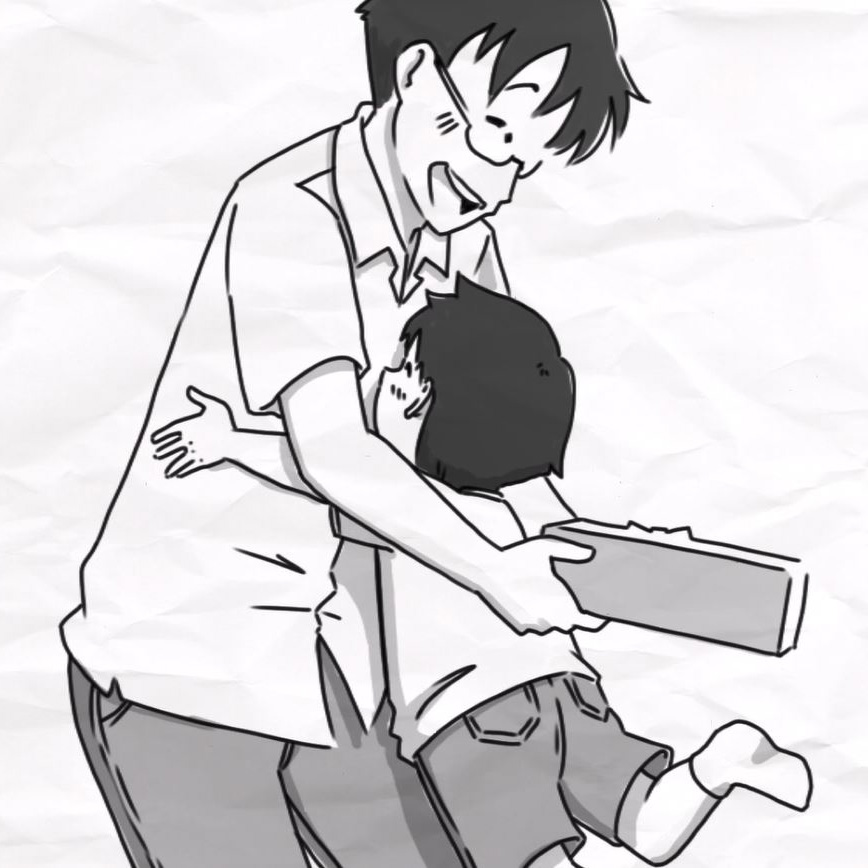 【Golden Bear Mens】<br/>父の日パラパラ漫画動画
