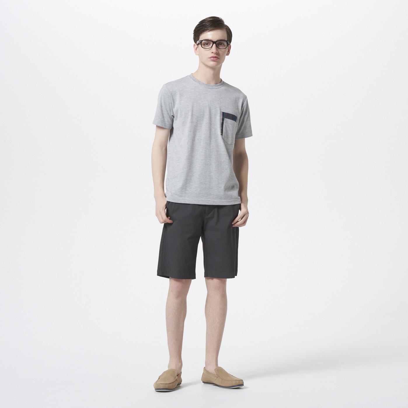 【Golden Bear Mens】<br/>切替ポケットTシャツのコーデ