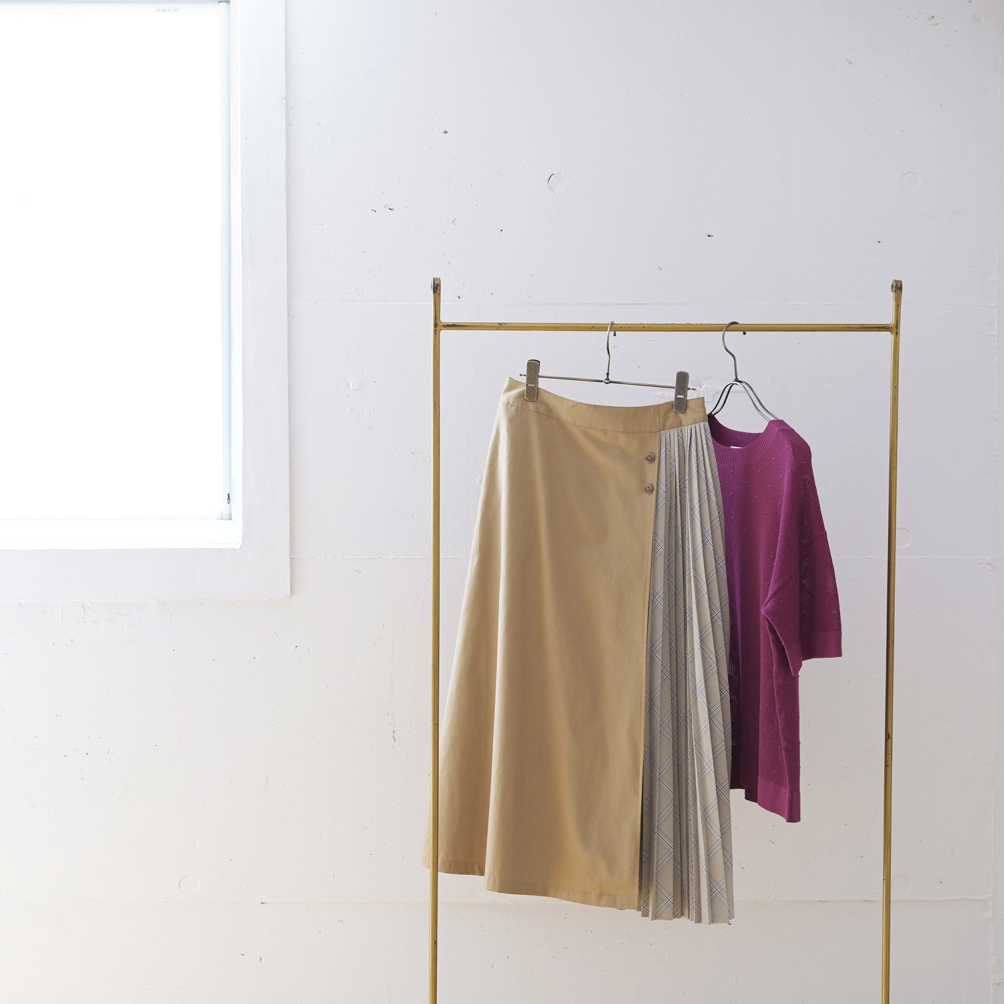 【Golden Bear Ladies】是非ゲットしたい!旬な切替スカート