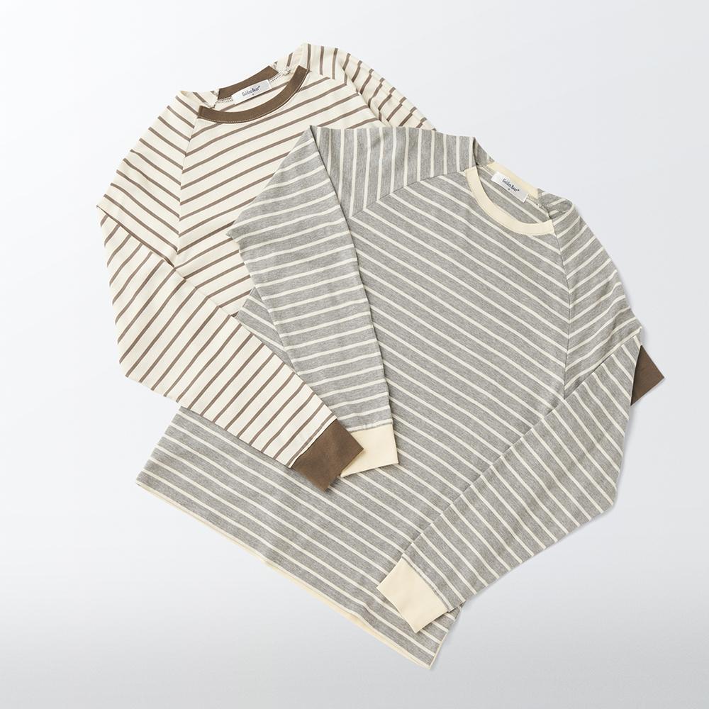 【Golden Bear】この秋に着回したいボーダーTシャツ