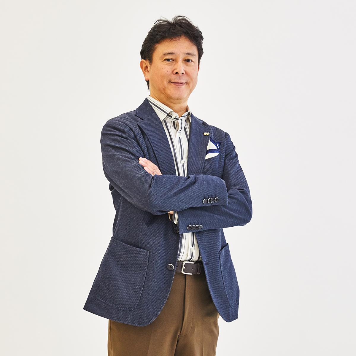Golden Bear東進講師 鈴木先生をスタイリング