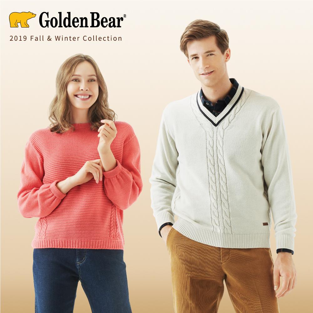 Golden Bear 日本のニット 新聞広告掲載