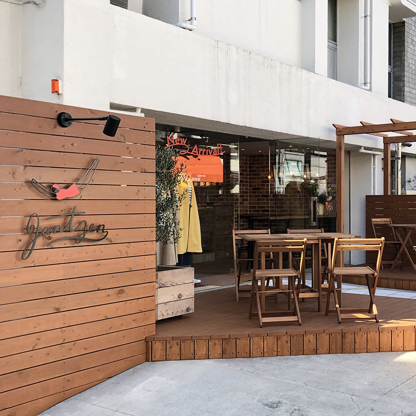JANTZEN </br>カフェを併設してリニューアルオープン!