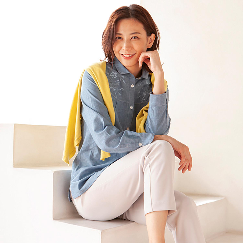 Marisa grace </br>夏の羽織に最適なシャツブラウス