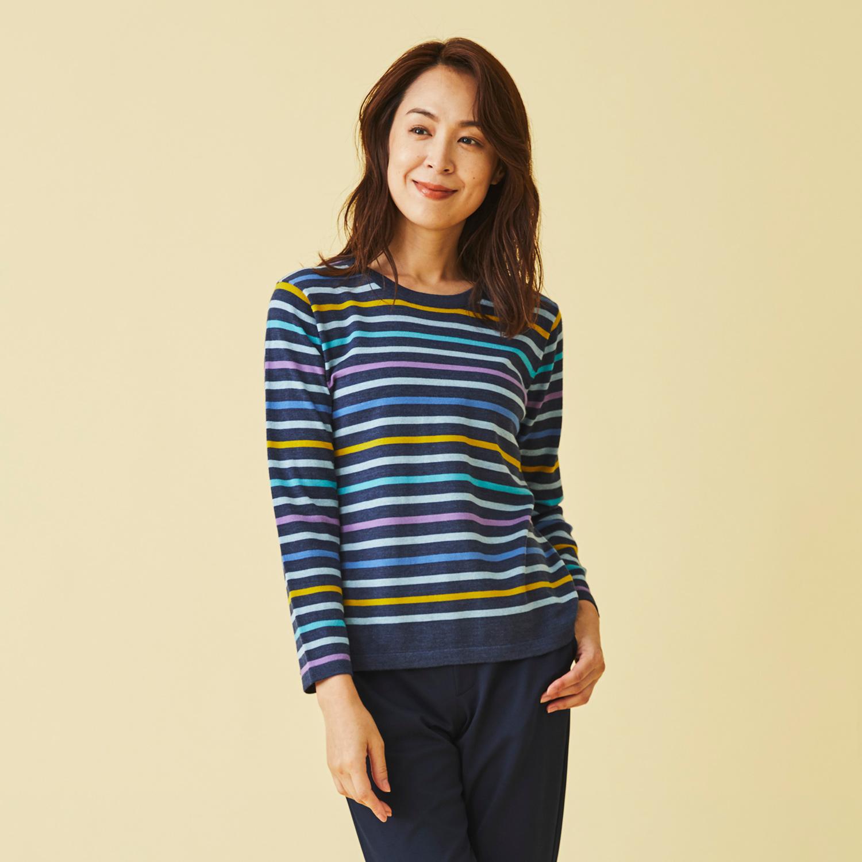 Marisa Grace </br>イタリー糸ボーダーセーター