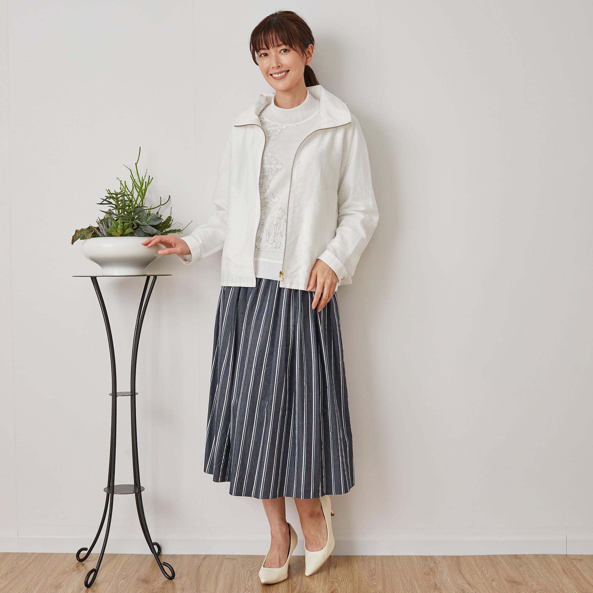 Marisa Grace </br>春のジャケットスタイル